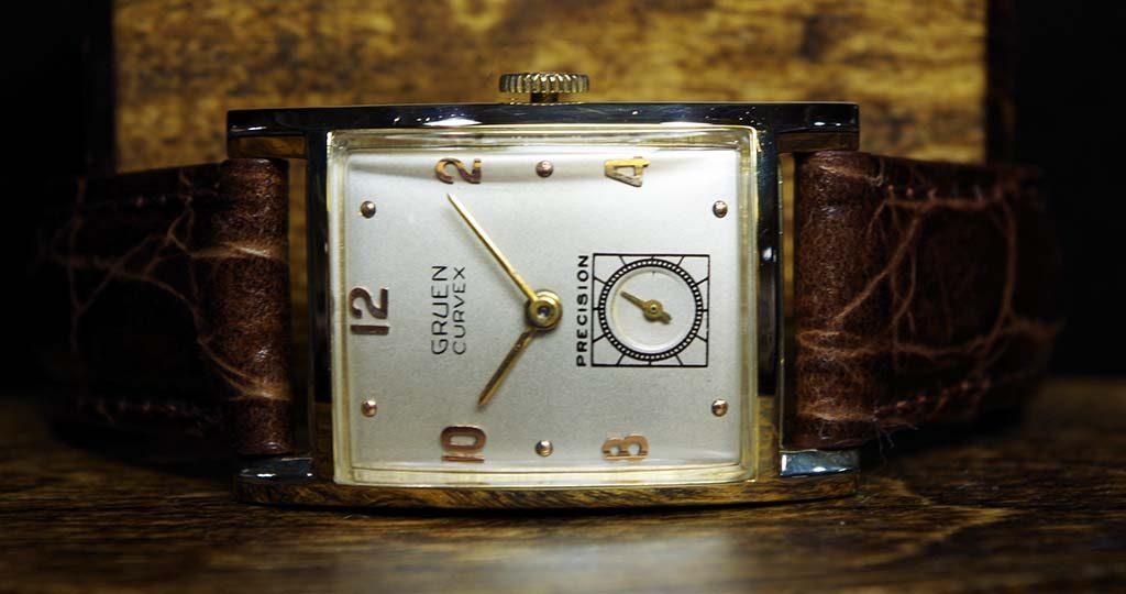 Gruen Curvex Precision Watch Repair Complete