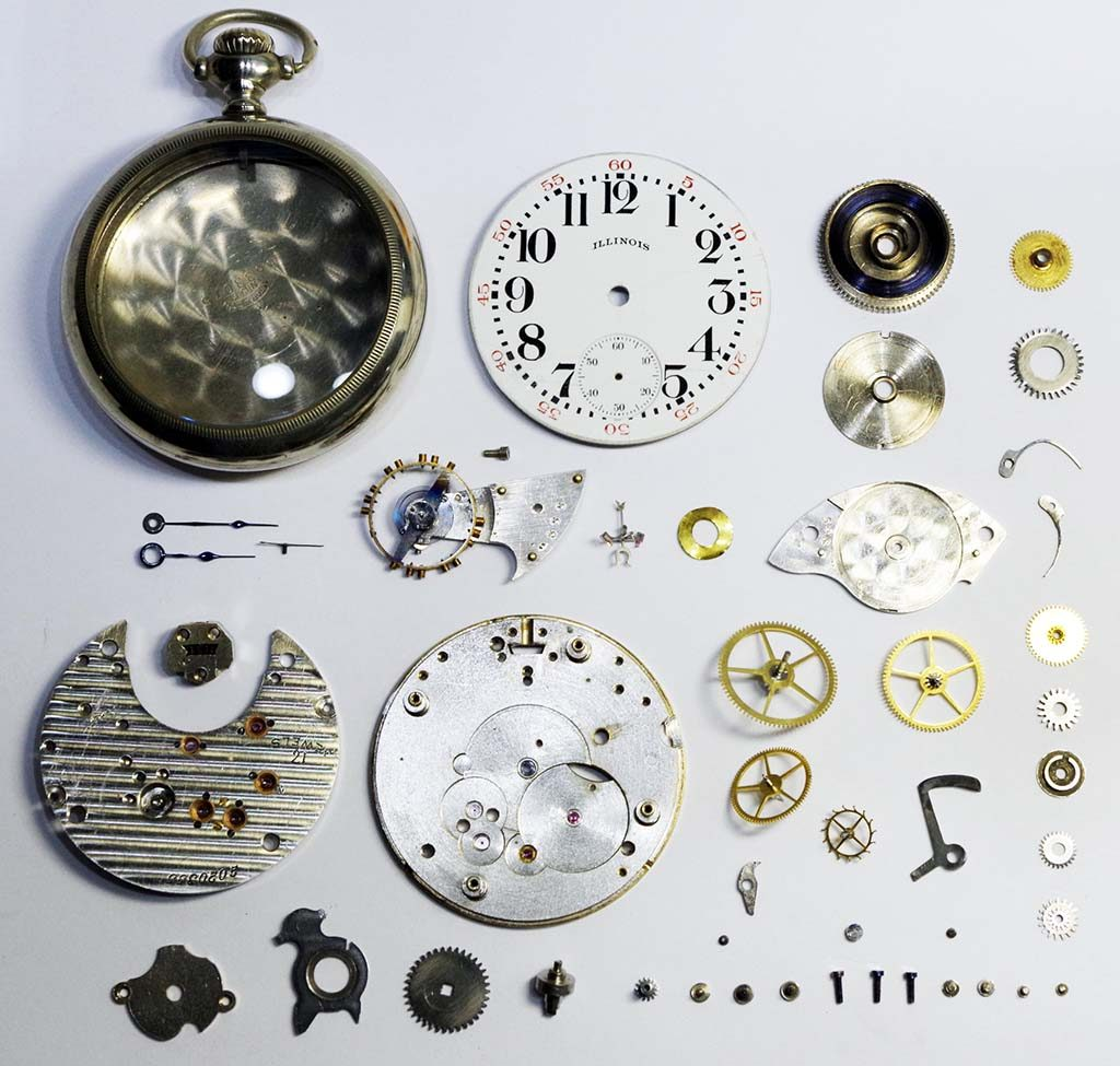 Illinois Pocket Watch Repair