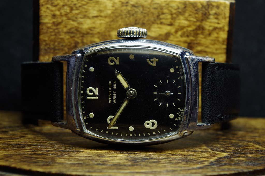 Westclox Wrist Ben Watch Repair