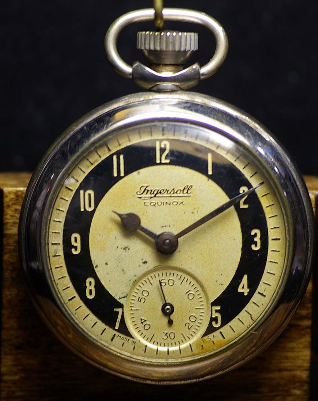 Ingersoll triumph pocket watch dating 9