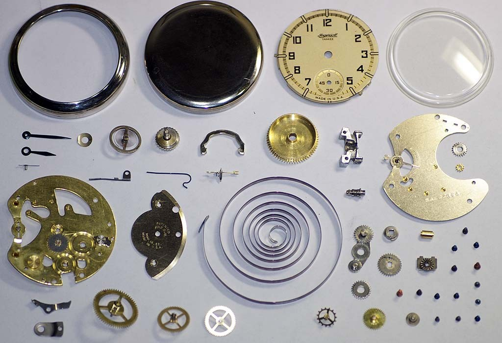 Ingersoll Yankee Pocket Watch Repair