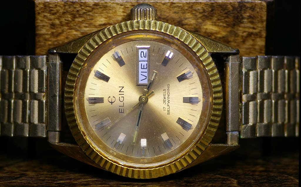 Swiss Elgin Watch Repair