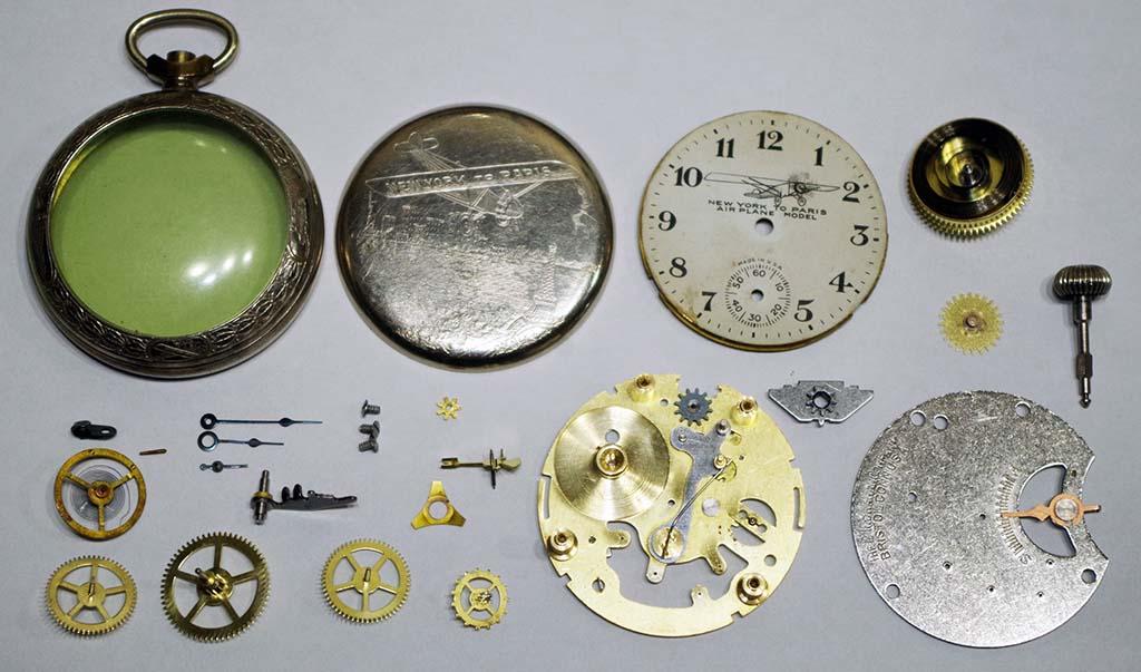 Ingraham New York to Paris Pocket Watch Repair